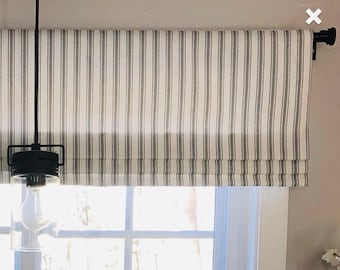 Modern Valances In The Roman Shade Style By Monagstudio On Etsy