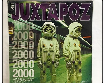 """Vintage Juxtapoz  """"Year In Art"""" 2000 Calendar Never Opened Excellent Condition"""