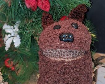 Chief...Crochet hand puppet