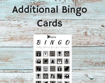 Additional Bingo Cards