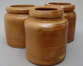 Krumeichs Conservenkrug antique German Westerwald salt glazed pottery stoneware jar