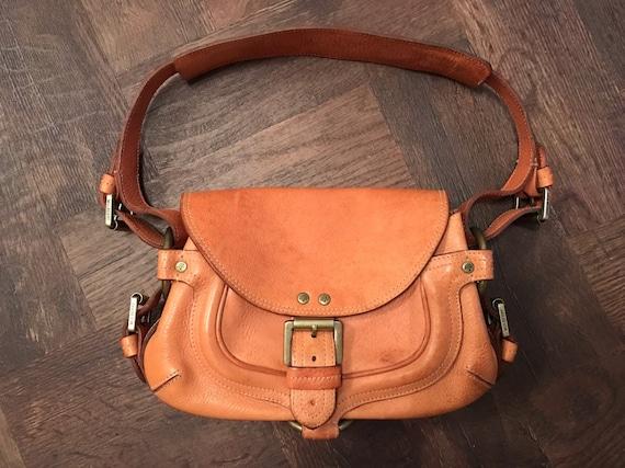 Mulberry Vintage Tan leather Tyler shoulder bag  336f1116d8c28