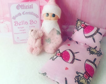 Baby Elf Bella-Bo The Shelf Sitter Doll With Accessories
