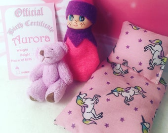 Baby Elf Aurora The Shelf Sitter Doll With Accessories
