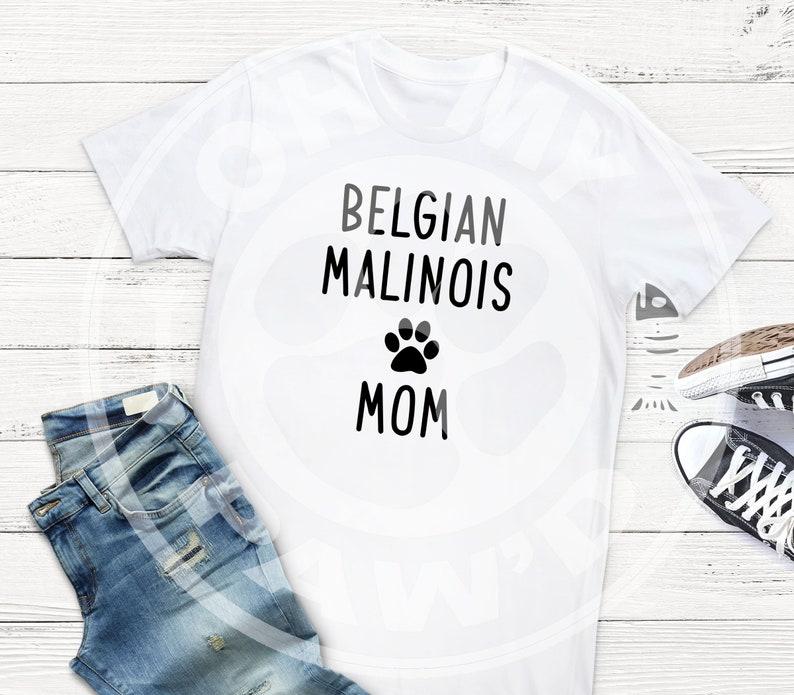 b4f10b4b Belgian Malinois Mom Dog SVG DXF Eps Cut File & Transparent | Etsy