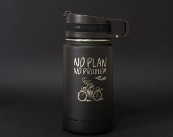 Earthwell  Laser Etched Roaster Flask - Shipping early August - No Plan No Problem