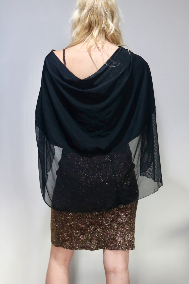 Dress shawl shoudler shawl over shawl FESTIVAL outfit beaded Bandeau Sweater