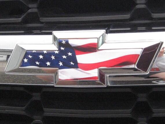 Colorado Chevy Bowtie Emblem Vinyl Sheet KIT UNIVERSAL OverlayFREE SHIP