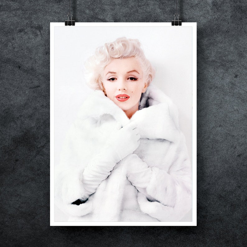 20x30 or 16x20 inch Marilyn Monroe Canvas Print Choose your Size A4 A1 A3