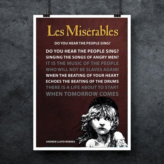 Les Misérables Movie Giant CANVAS ART PRINT A0 A1 A2 A3 A4 Sizes