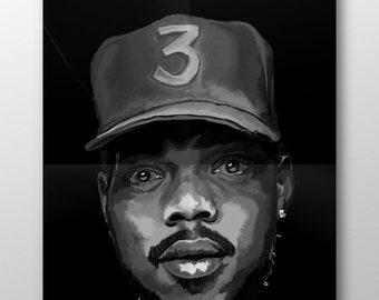 7813404e94c18 Chance the rapper poster