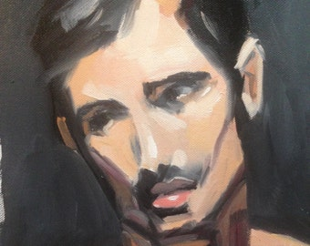 Study 3 Original Atelier Oil Painting