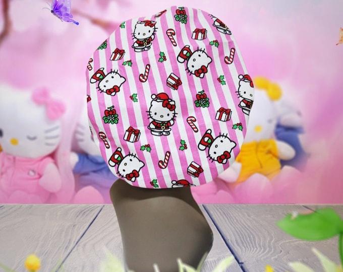 Hello Kitty Satin Lined Bonnet