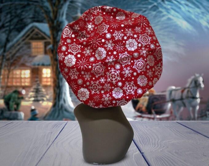Winter Wonderland Satin Lined Bonnet