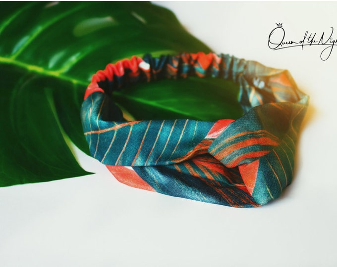 Featured listing image: Tropical Floral Headband