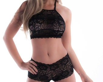 Kit Lingerie -Body Laced - Kit Sensual - Laced Kit -Black Kit With lace- Sensual  Kit Lingerie - Lance Lingerie 9ab719008