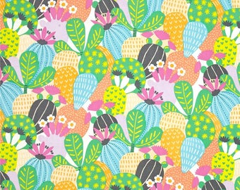 Desert Bloom cake. Alexander Henry's fabric. Patchwork fabric. Fabric of reworks. Cotton fabric. Cactus fabric. Cloth for dress. Sales