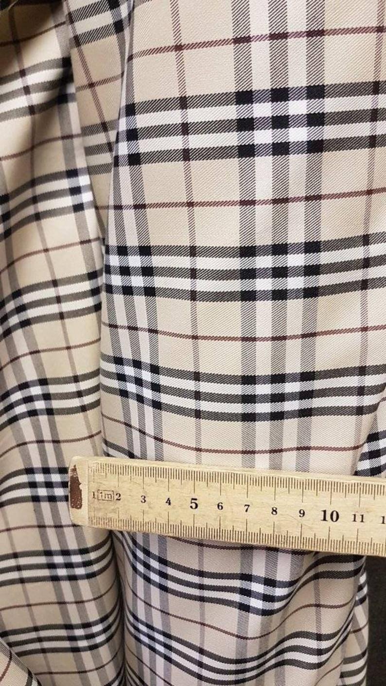 d5dd48c22ec Burberry Fabric Material genuine trench coat Nova check fabric