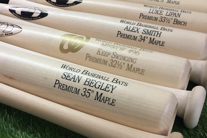 Custom Handmade Single Color Trophy Baseball Bat