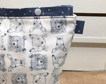 Project Bag - Knitting // Crochet - MEDIUM