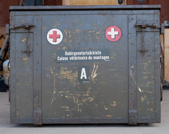 1930's Antique Swiss Mountain Veterinary Chest