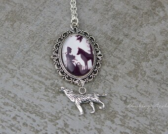 Halskette Halsband Choker Halsschmuck Gothic Collier Vintage Schmuck weiß #4