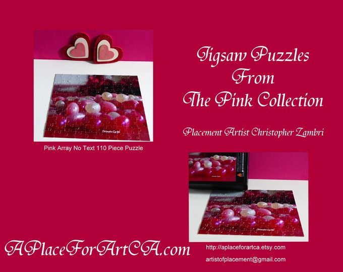 Pop Art Jigsaw Puzzles From The Pink Collection Are Fun Anywhere For All Ages!