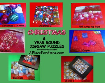 Christmas & Year-Round Pop Art Jigsaw Puzzles Are Fun For All Ages!