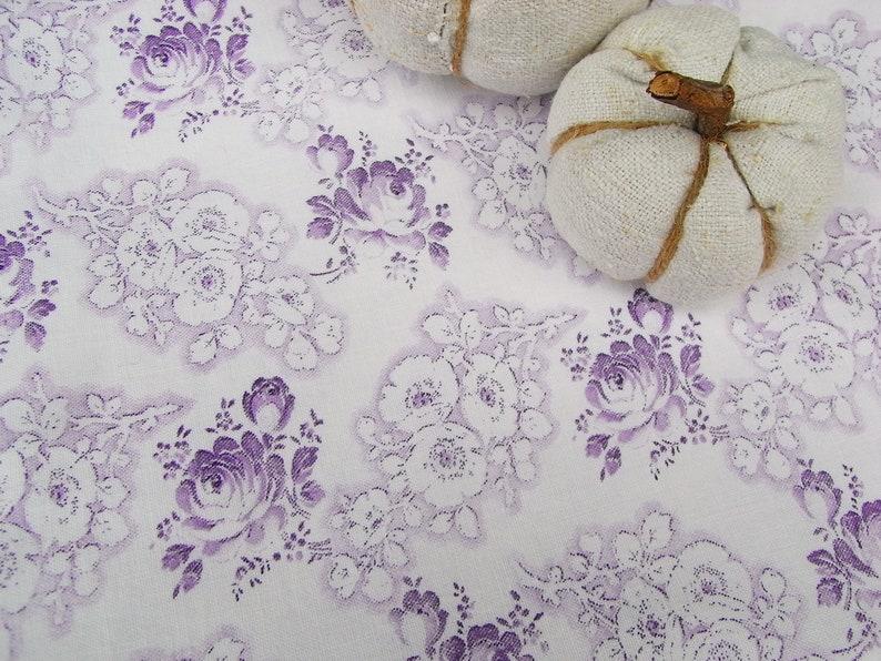 roses 1.5m romantic peasant bedding fabric quilt cotton coupon doll clothes pillow patchwork vintage mille fleurs fabric