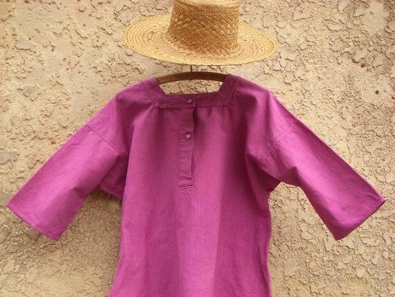 antique shirt, cute summer nightgown, tunic, night