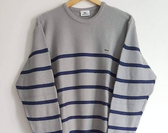 7b169fb07f1b Pull 44% Laine Lacoste Vintage Années 90 Made in France Taille XL (L XL).