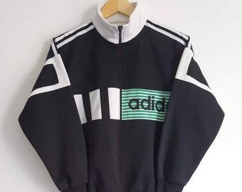 48a33c04fcd0c Veste Sport Adidas Vintage Années 90 Taille XS (XS S) Comme Neuf Rare.