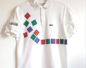 0b522d9b Polo 100% cotton Lacoste Vintage 80s Made in France size XS like new Rare.