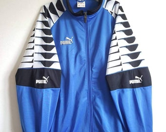b0eb969a1c9 Veste Sport Puma Vintage Années 90 Taille L Comme Neuf RARE.