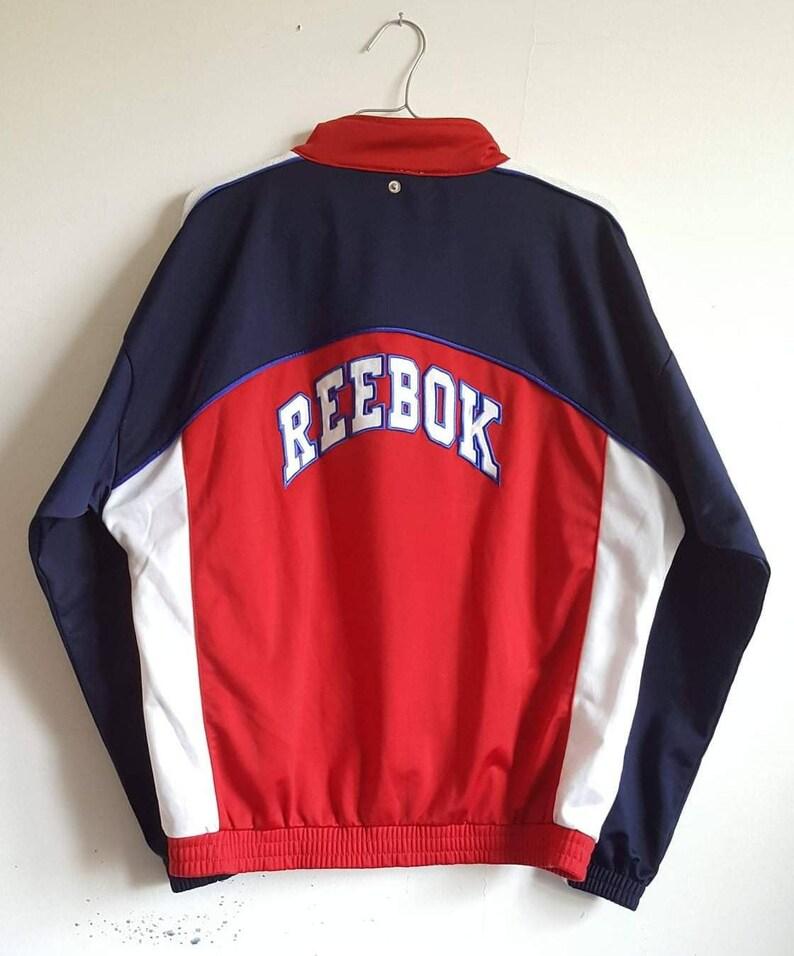 Veste Sport Reebok Vintage Années 90 Taille XS Rare.