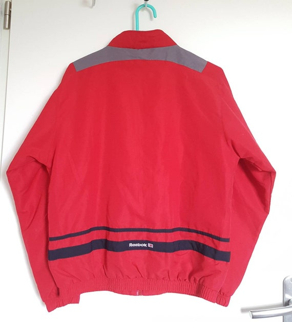 Veste Sport Reebok Vintage Années 90 Taille XS (XSS) Comme Neuf.