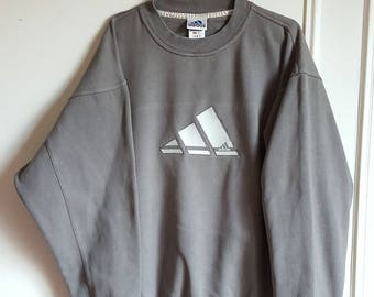 70% cotton Sweatshirt Adidas Vintage early 90-00 size l.