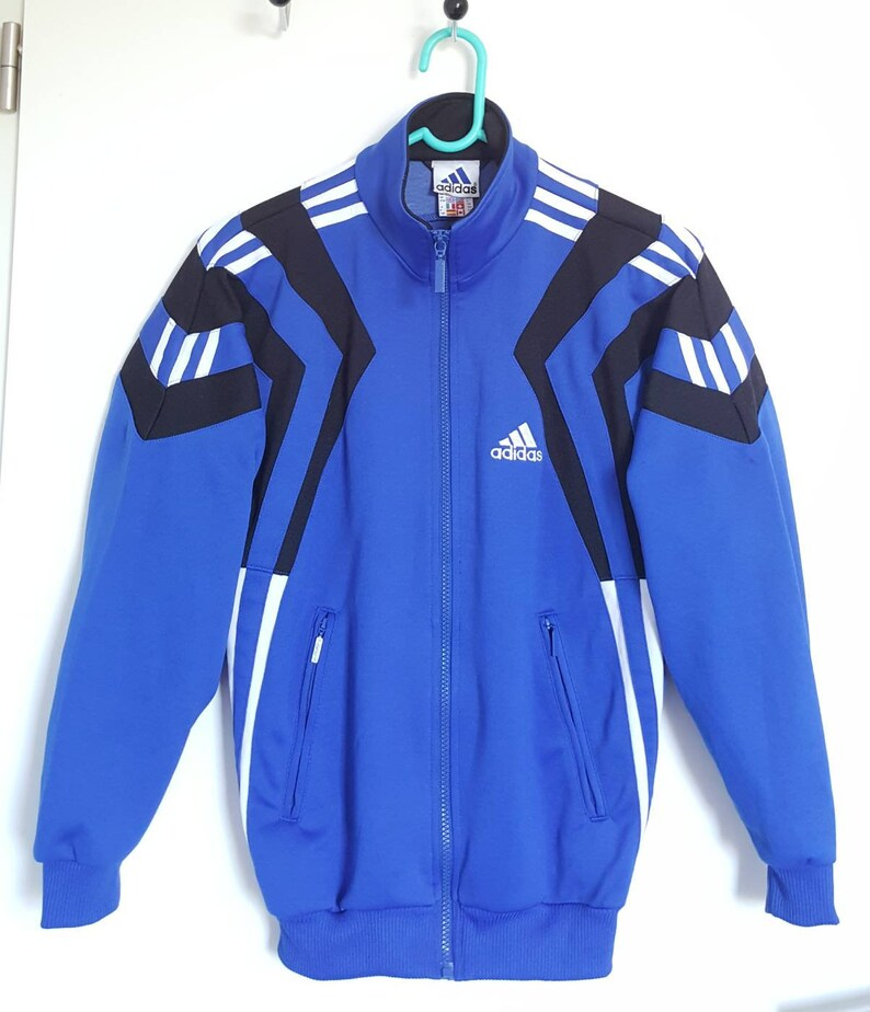 d8f6bfcec50c8 Vintage 90s Adidas sports jacket size XS (XS/S).