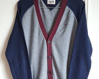 Jacket / sweater 100% cotton Tommy Hilfiger Vintage early 00 size S.