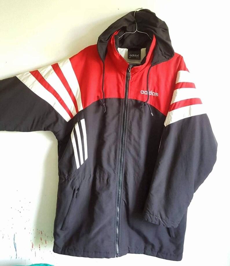 1e277bc620c7d Coat/jacket/hooded jacket adidas vintage years 90 size M rare.
