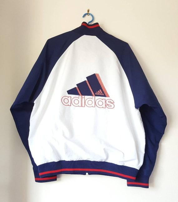 76e9faa5abdcb Adidas Sport jacket vintage years 90 size M rare.
