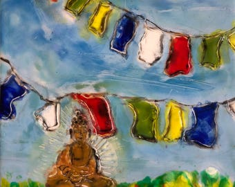 Prayer Flag, Laundry Day