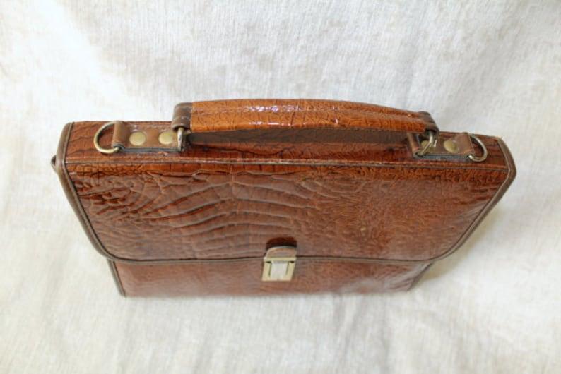 super popular 181de 38101 Vintage bag, imitation leather, Croc