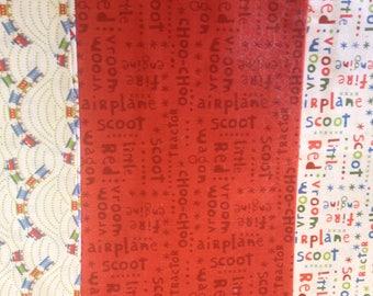 lot 3 RILEY BLAKE Fabrics SCOOT PATCHWORK fabrics