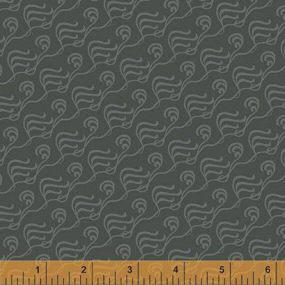tissu patchwork gris, collection Kingdom, Windham Fabrics 33213
