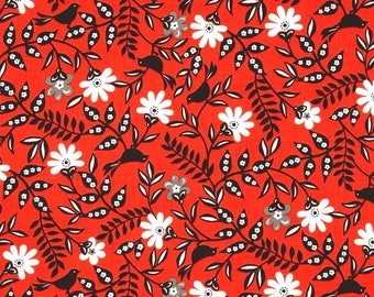 Red patchwork SERAFINA TIMELESS TREASURES fabric