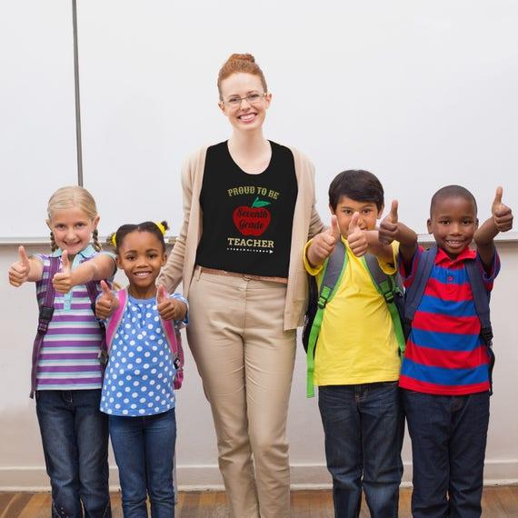 7th Grade Teacher Teacher Gift Ideas Teacher Gift Set Proud Etsy