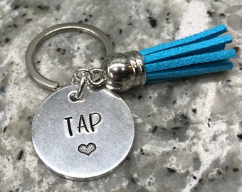 Sportybella Tap Dance Keychain Dance Jewelry for Dancers Dance She Believed She Could So She Did Keychain