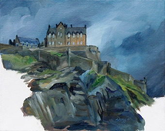 Castle in the Storm- Print
