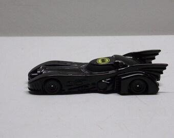 Spielzeugautos ERTL Batmobile Diecast Tim DC Comics Made in China 1989 Black Batman Car Auto